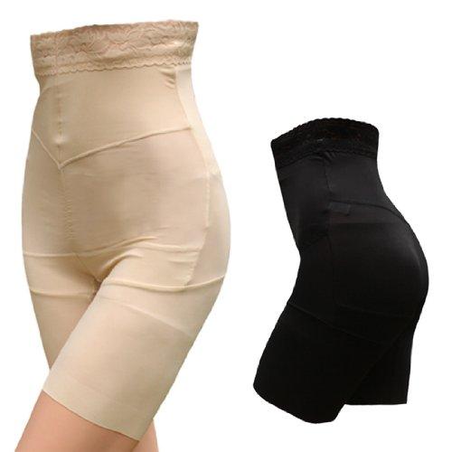 Pantaloncino da donna snellente body guaina dimagrante modellante mutande SS-W01 Beige