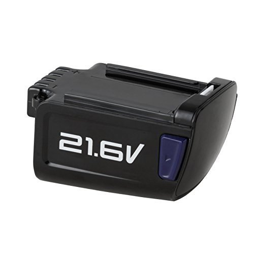 - Eureka PowerPlush Z0701B 21.6V Lithium-Ion Battery for NEC122 NEC122A NEC126, Black