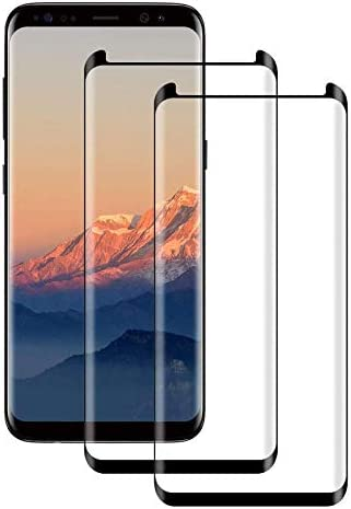 Glass Screen Protector for Samsung Galaxy Note 9,three-D Curved,Case Friendly Tempered Glass,Bubble-Free,9H Hardness for Galaxy Note9 Screen Protector-2 Pack