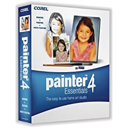 Corel Painter Essentials 4 (Win/Mac) (Old Version)