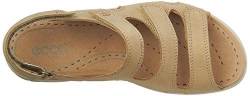 Ecco Kvinners Babett 3 Stropp Kjole Sandal Sand