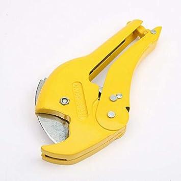 PVC y PPR herramientas de plomer/ía para cortar O.D Cortador de tuber/ías de pl/ástico SENRISE de 30 mm cortador de tuber/ías de PVC Mangueras de pl/ástico PEX rojo