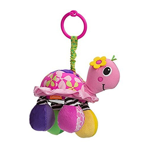 Infantino Sparkle Collection Topsy Turtle Mirror Pal 0+m
