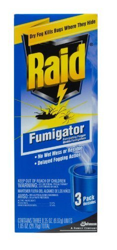 - Raid Fumigator Triple-Pack .35-Ounce Cans (Pack of 6) Total 18 Units by Raid