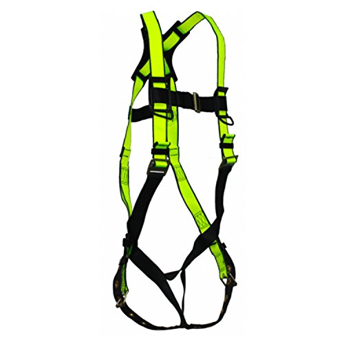 Safewaze Fs185 Safelink No Tangle Single D Ring Harness W  Grommet Legs And Fixed D Ring S M