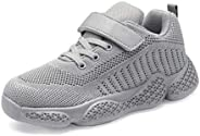 YAVY KidsTennis Shoes for Girls Boys Breathable Lightweight Running Shoes Athletic Walking Shoes Fashion Knit