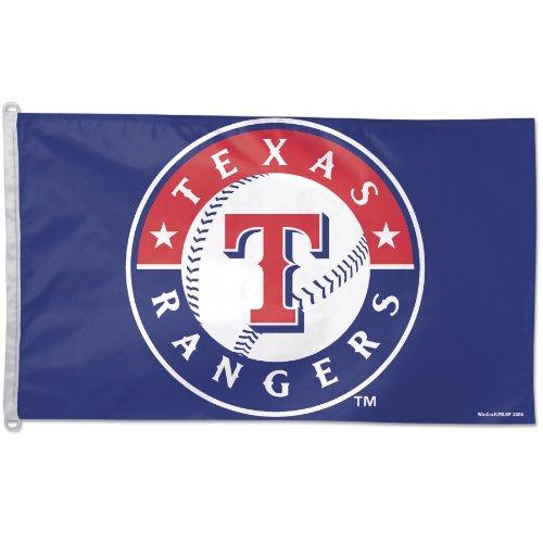 Atlanta Braves Flag (MLB Texas Rangers 3-by-5 foot Flag)