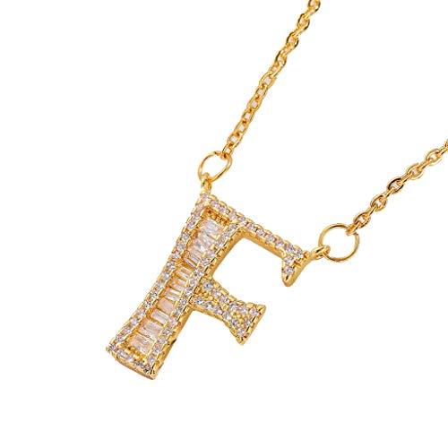 Explosive luxury copper micromicroinlaid zircon 26 hip-hop letter diamond necklace (Direct Contact Rattan)