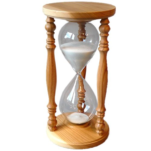 Sandglass Hourglass Sand Timer Clock Cherry Wooden 60 min one hour by LUPI Solar Radiometer and much more