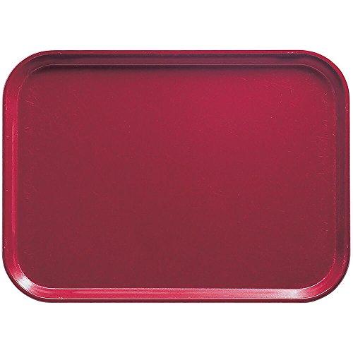 Camtray, Metric, 37.5 Cm X 53 Cm, (14-3/4'' X 20-7/8''), High-Impact Fiberglass, Cherry Red, Nsf (12 ()