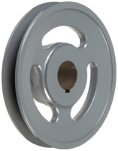 1.125 Pulley - TB Woods BK60118 FHP Bored-to-size V-Belt Sheave, B Belt Section, 1 Groove, 1-1/8