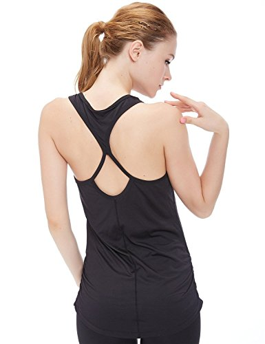 CTKcom Women's Loose Fit Tank Top -Workout Yoga Fitness Sports Racerback Tank Tops