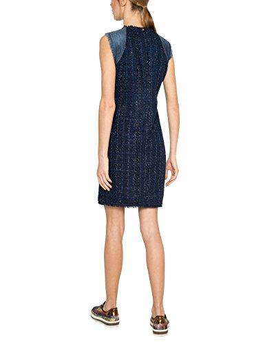 Femme Vest Blue 5008 Dark Robe Bleu Desigual Achille Denim wtzd66q