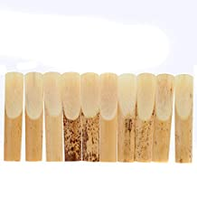 Pyracin(TM) High Quality 10 Pieces 2.5 Reed Bamboo for bE Alto Saxophone Sax Accessories