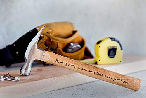 Engraved Personalized Hammer - Gift Ideas For Men/Husband/Father's Day Deal (Large Image)