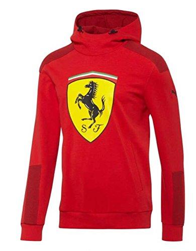 - Puma Ferrari Red Shield Hooded Sweat
