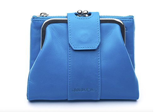 Jessica Leather Wallet (Luxury Jessica Leather Wallet (Blue) by)