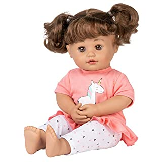 "Adora My Cuddle & Coo Baby ""Unicorn Magic"" - Touch Activated Doll with 5 Sounds: She Cries, Coos, Giggles, Kisses Back & Says Momma"