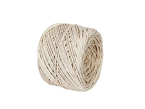 Macrame Cord 2mm X 210m(About 230 yd) Natural Virgin Cotton Handmade Decorations Perfect for Making Macram Bracelet Keychains Jewelry Crocheting Bohemia Dream Catcher DIY Crafts - Soft Cotton Twine