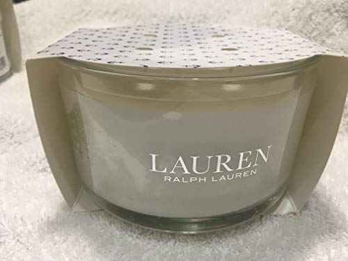 Ralph Lauren Lakeside Scented Candle Triple 3 Wick Glass - 16.4 Ounces
