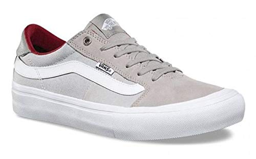 Vans Style 112 Pro US Mens Size 6.5 / Womens Size 8 Drizzle Micro Chip Grey Skateboarding Shoes