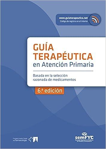 Guía Terapéutica en Atención Primaria - 9788415037576: Amazon.es: semFYC: Libros