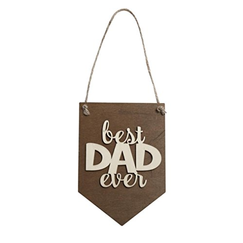 Grace Garden Bar Table - Botrong Wooden Hanging Plaque Board Home Wall Ornament Good Gifts for Mother & Father's Day Holiday (B)