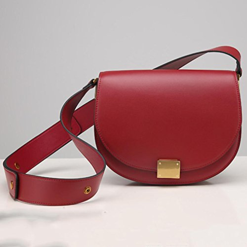 Shoulder Shoulder Handbag Fashion 2 Professional Bag Women's TINGTING Lady Messenger Bag Leather zwXn5qA