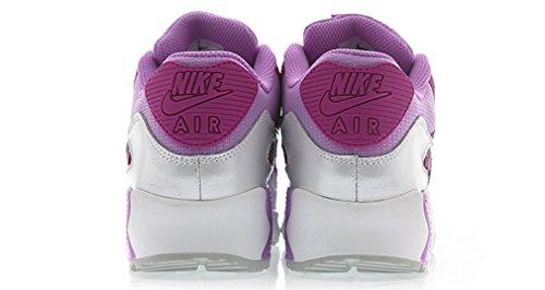 Nike Air Max 90 Mesh Gs Piger Unge Kvinders Løbesko 724.855 Til 001 Fuschia Glød Fuschia Flash 500 IrXbV9