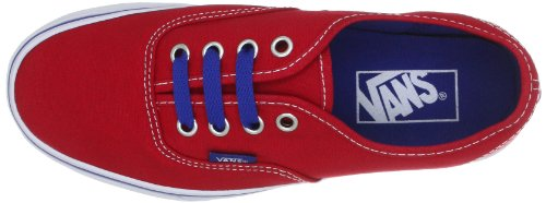 Vans Authentic - Zapatillas Unisex adulto Rojo