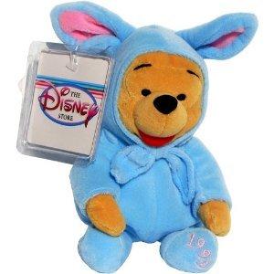 Blue Rabbit (Blue Easter Bunny Rabbit Suit Pooh - Disney Mini Bean Bag Plush)