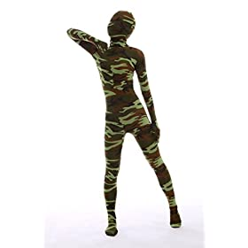 - 41EDu1cH 2BbL - Nedal Women's Camouflage Zentai Lycra Bodysuit Spandex Halloween Onesie