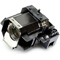OEM Epson Projector Lamp for Model PowerLite Pro Cinema 1080 UB Original Bulb and Generic Housing