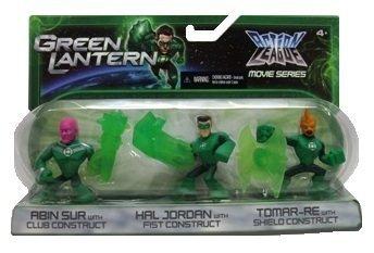 Green Lantern Action League Movies Series Action Figures & Accessories, Includes: Abin Sur, Hal Jordan and -