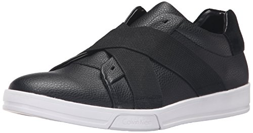 Calvin Klein Men's Baku Fashion Sneaker, Black, 11 M US