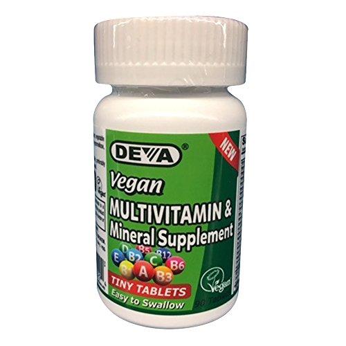 Deva Vegan Multivitamin Mineral Supplement