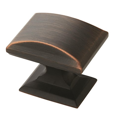 Amerock BP29340-ORB Candler Collection Rectangular Knob, Oil-Rubbed Bronze (Amerock Cabinet Outlet)