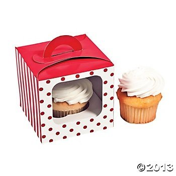 Striped Cupcake Box - 1