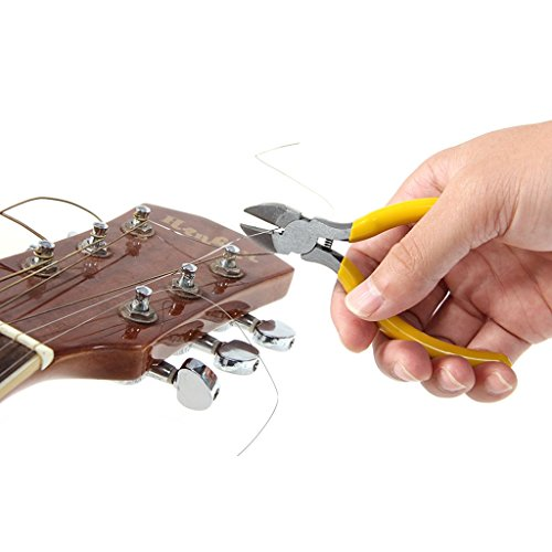 MagiDeal Exquisite Wooden Unfinished Guitar Body with Guitar Repair Tools DIY for Strat ST Electric Guitar Parts by non-brand (Image #3)