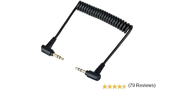 Movo MC1 Cable de audio de 3,5 mm – Cable doble macho TRS de 3,5 mm para mezcladores de audio, micrófonos, cámaras, grabadores, altavoces de coche, y más: Amazon.es: Industria, empresas y ciencia