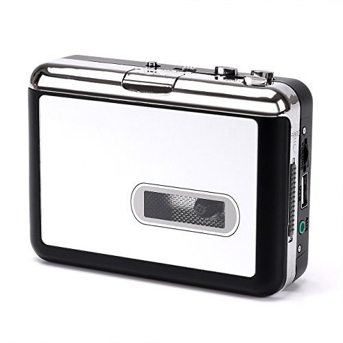 SH-US-EP231 Stand-Alone Cassette to MP3 Tape Music Converter to USB Flash Disk - Portable Cassette Player (Auto Reverse, PC Independent Audio Recorder) by SH-US-EP231