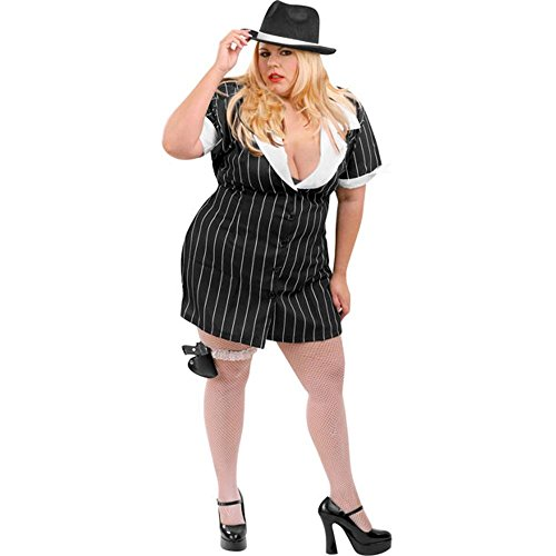 Plus Size Sexy Mobster Costume For Sale Funtober Halloween 2018
