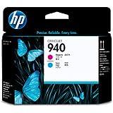HP C4901A - 940 - cabezal de impresión cian, magenta