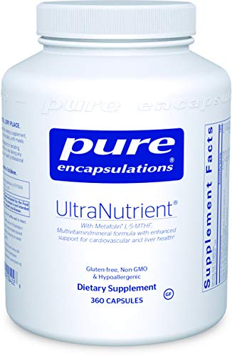 Pure Encapsulations - UltraNutrient - Hypoallergenic Multivitamin/Mineral Complex with Advanced Antioxidants - 360 Capsules