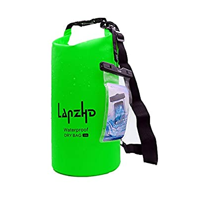 Dry Bag Waterproof Floating Dry Gear Bags for Boating, Kayaking, Fishing, Rafting, Swimming, Camping and Snowboarding-Camouflage 5L/10L/20L/30L Capacity