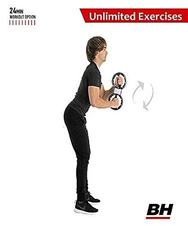 BH Fitness Unilimited 4lbs Tonificador Muscular, Unisex, Blanco, Unico: Amazon.es: Deportes y aire libre