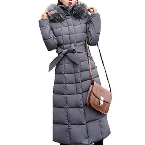 Gris Blouson Chic Longue Parka Parka Fourrure Femme Manteau Noir Lache Fanessy Doudoune Cardigan Mode Tr Capuche Veste avec OIZqBcwx