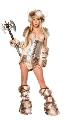 LOSTSS Costumes Women Cosplay Costume Cosplay Female Viking Warrior Costume (Female Cosplay)