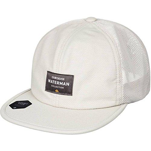 Quiksilver Men's Surf Runner Hat, Khaki, - Quicksilver Visor