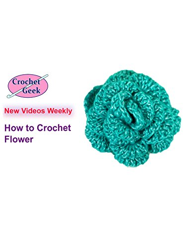 How to Crochet Flower Crochet Geek